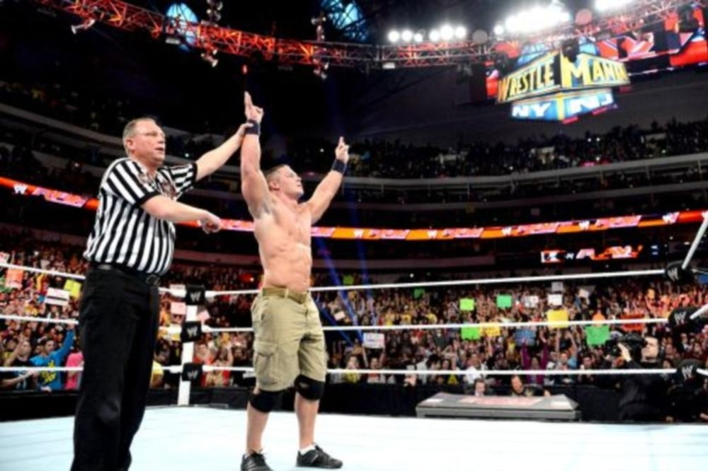Raw SuperShow: Επίσημος διεκδικητής ο Cena (videos+photos)