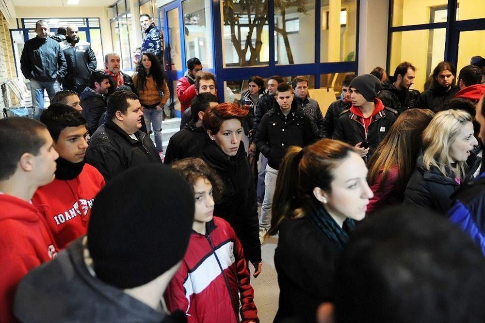 Ολυμπιακός: Υποδοχή από οπαδούς στα Γιάννινα (photos)