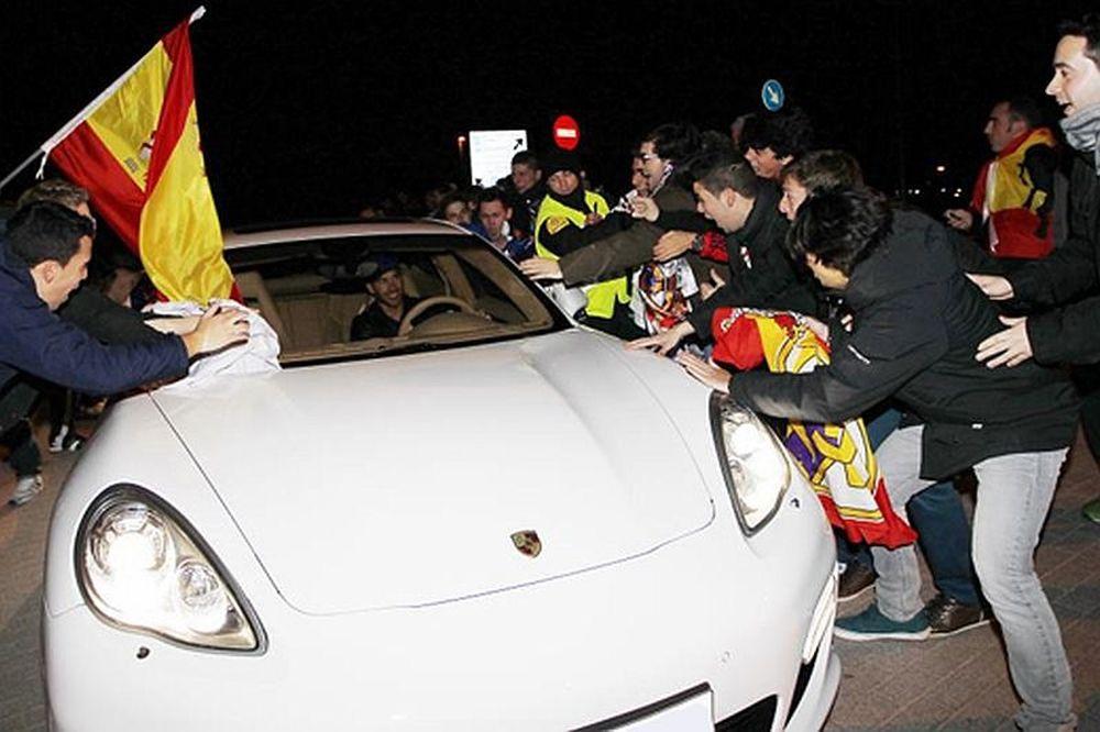 Υποδοχή ηρώων στη Μαδρίτη (photos)