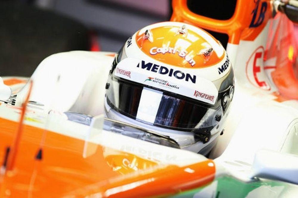 Force India: Ο Σούτιλ παρέα με ντι Ρέστα