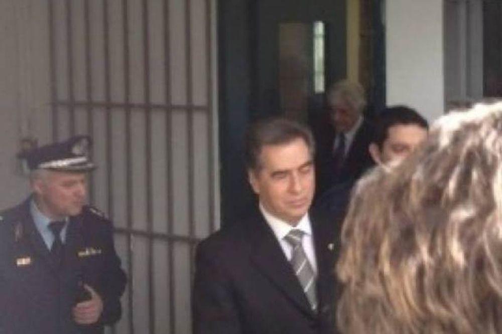 Η πρώτη νύχτα στην φυλακή για τον Βασίλη Παπαγεωργόπουλο