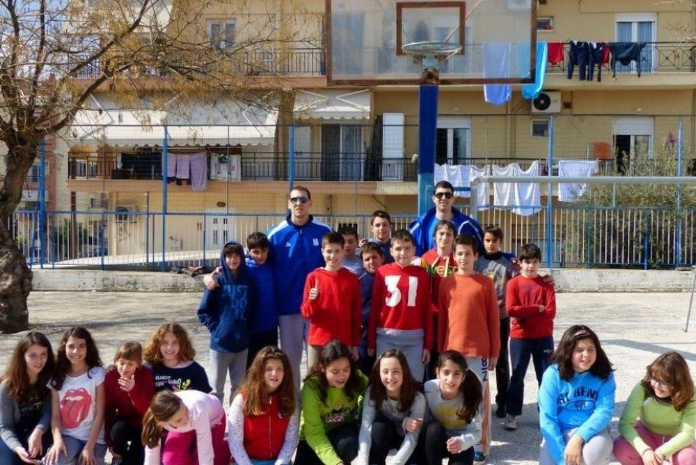 Καβάλα: Στο 16ο Δημοτικό Σχολείο (video+photos)