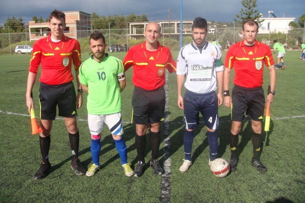 Πορτοχελιακός-Λουκίσια 0-3