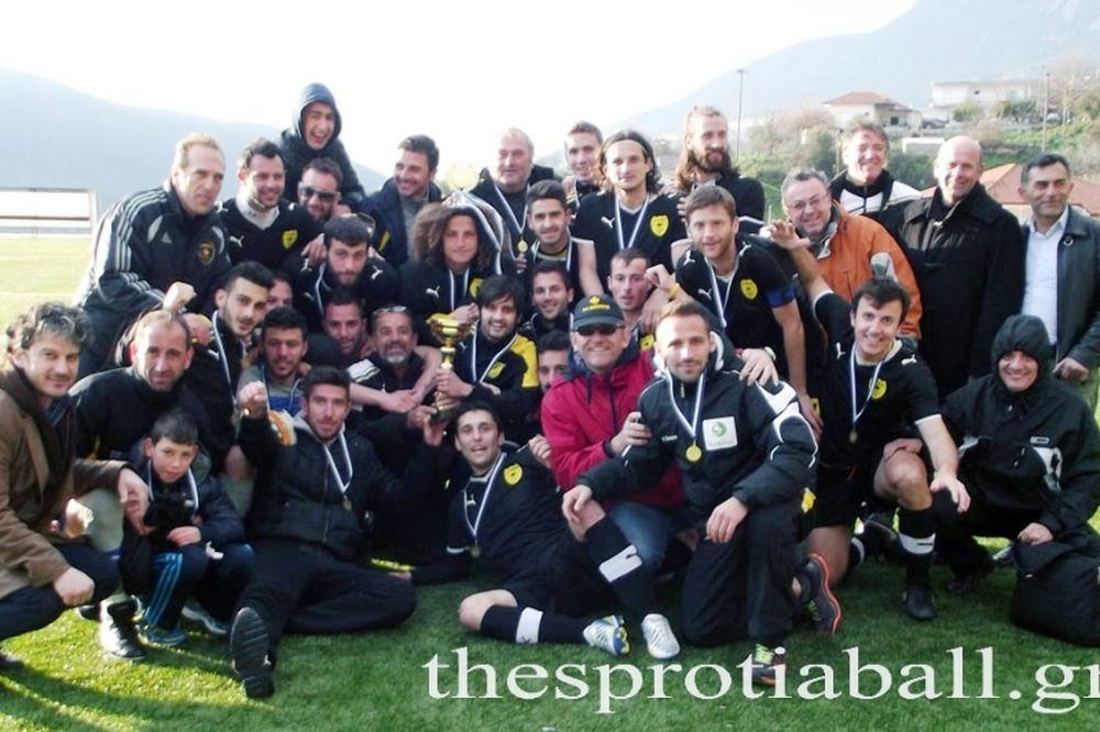 Κύπελλο Θεσπρωτίας: Για 14η φορά η κούπα στον Θεσπρωτό