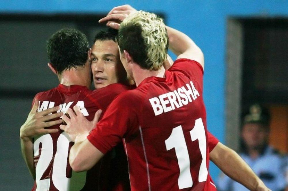 «Διπλό» ελπίδας για Αλβανία (video)
