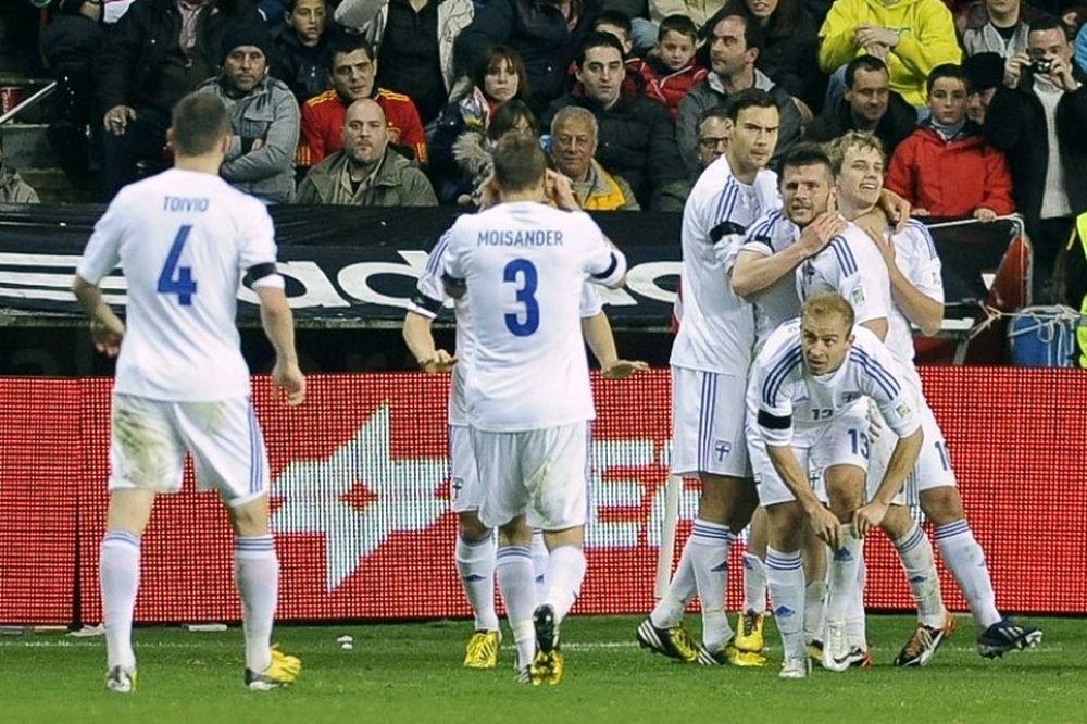 Γκέλα ολκής για Ισπανία, 1-1 με Φινλανδία (video)