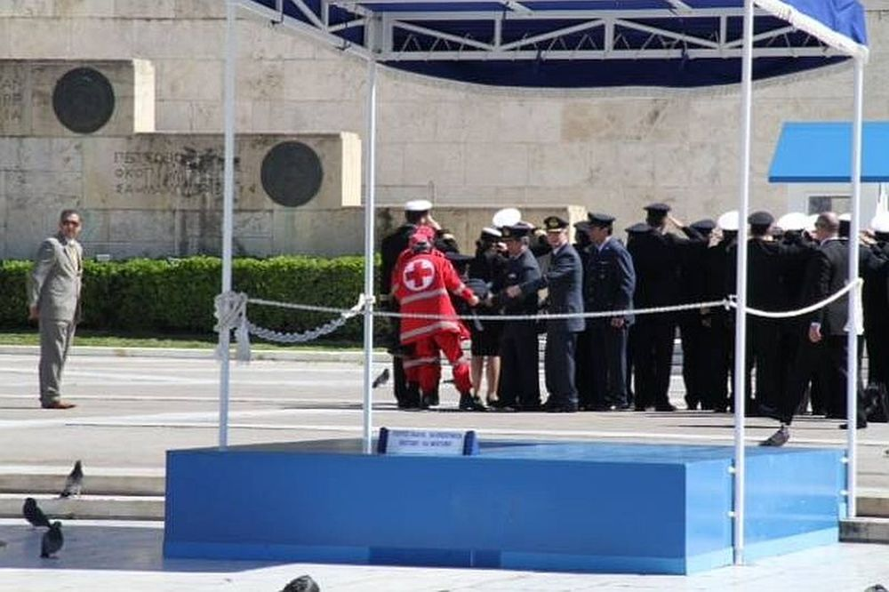 EKTAKTO: «Κατέρρευσε» αξιωματικός του στρατού (photo)