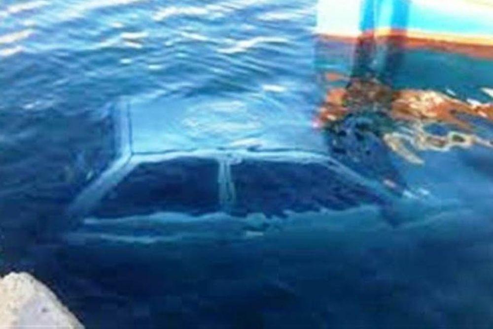 Κρήτη: Όχημα με τέσσερα άτομα βούτηξε στη θάλασσα