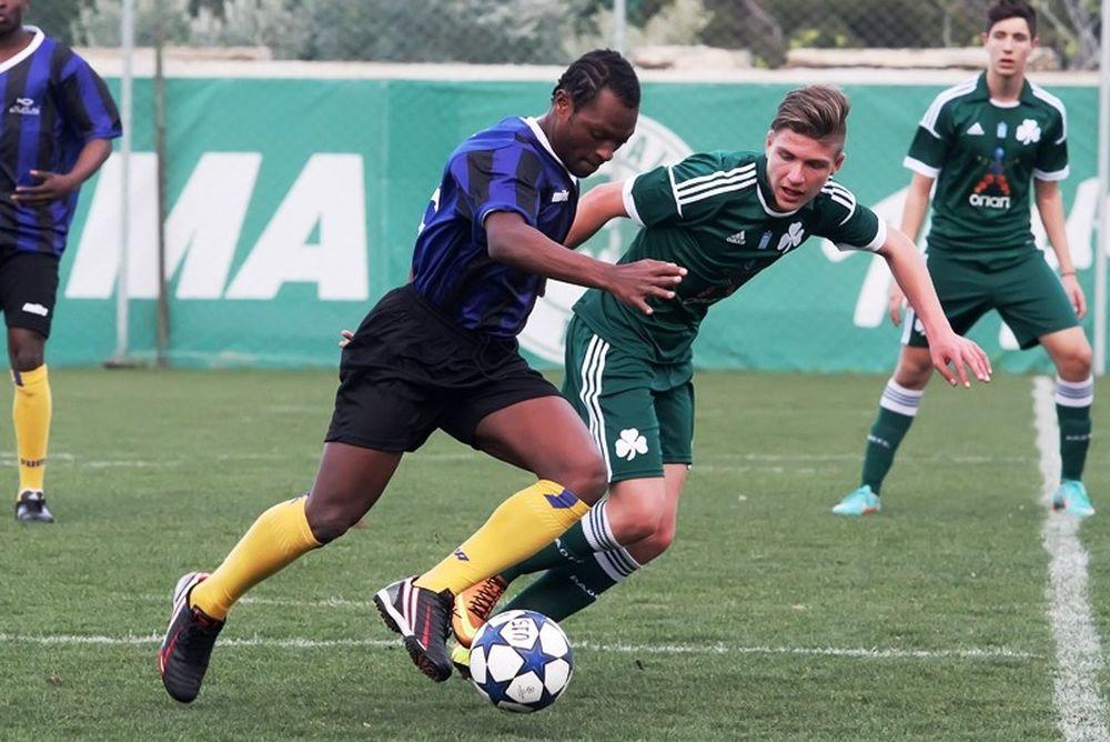 Παναθηναϊκός: Γκολ στον ρατσισμό (photos)