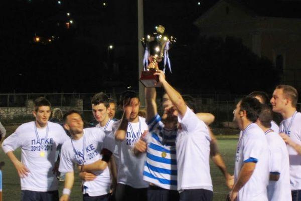 Κύπελλο Κεφαλονιάς: Ο Παγκεφαλληνιακός το τρόπαιο