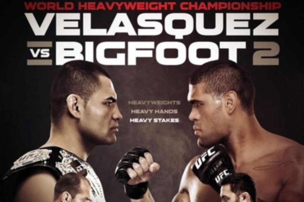 UFC 160: Πόστερ για το «Velasquez vs Silva 2»