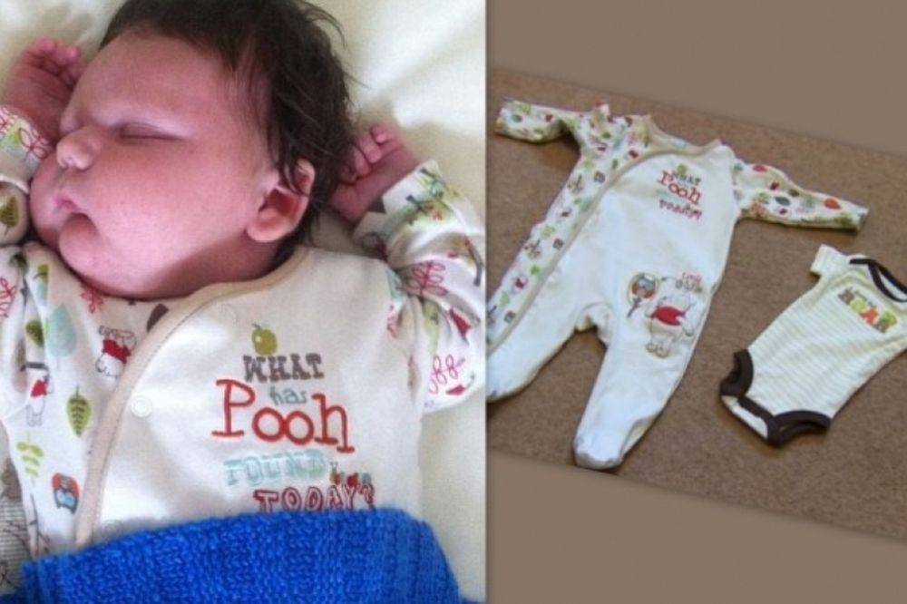 Το σοκ της μητέρας καθώς το παιδί της γεννήθηκε 7 κιλά και 200 γραμμάρια! (φωτό)