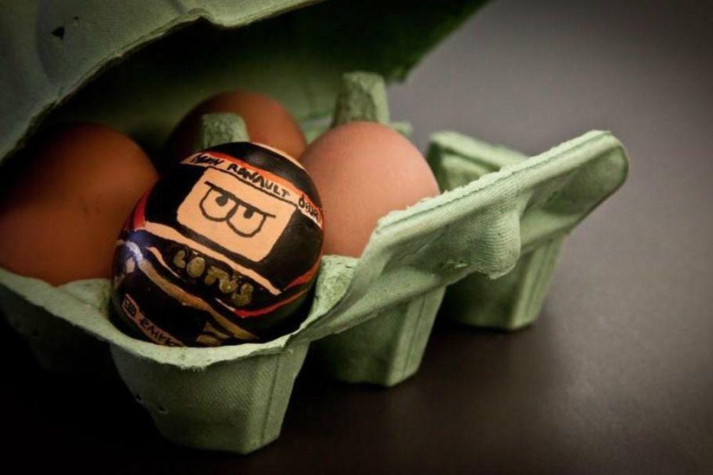 Λότους: Ο Κίμι Ραϊκόνεν… αυγό!