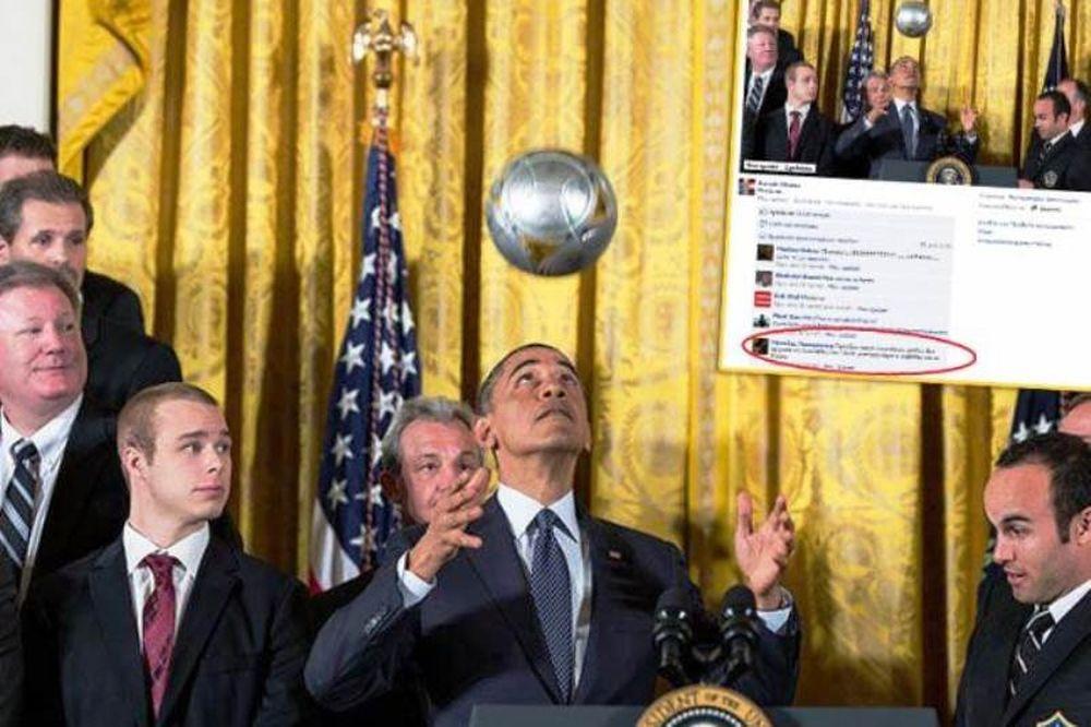 ΠΑΟΚτσήδες καλούν... Ομπάμα!