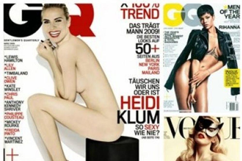 Stars και προκλητικά εξώφυλλα: Ποιες διάσημες έχουν φιγουράρει topless;