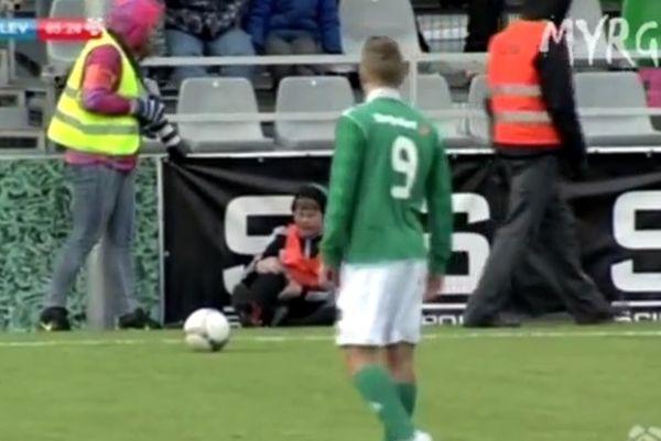 Εσθονία: Παίκτης κλώτσησε ball boy α λα… Εντέν Αζάρ! (video)