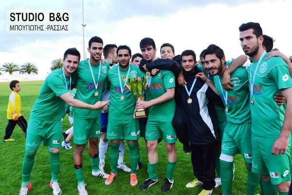 Κύπελλο Αργολίδας: Το σήκωσε με... ντόρτια ο Παναργειακός