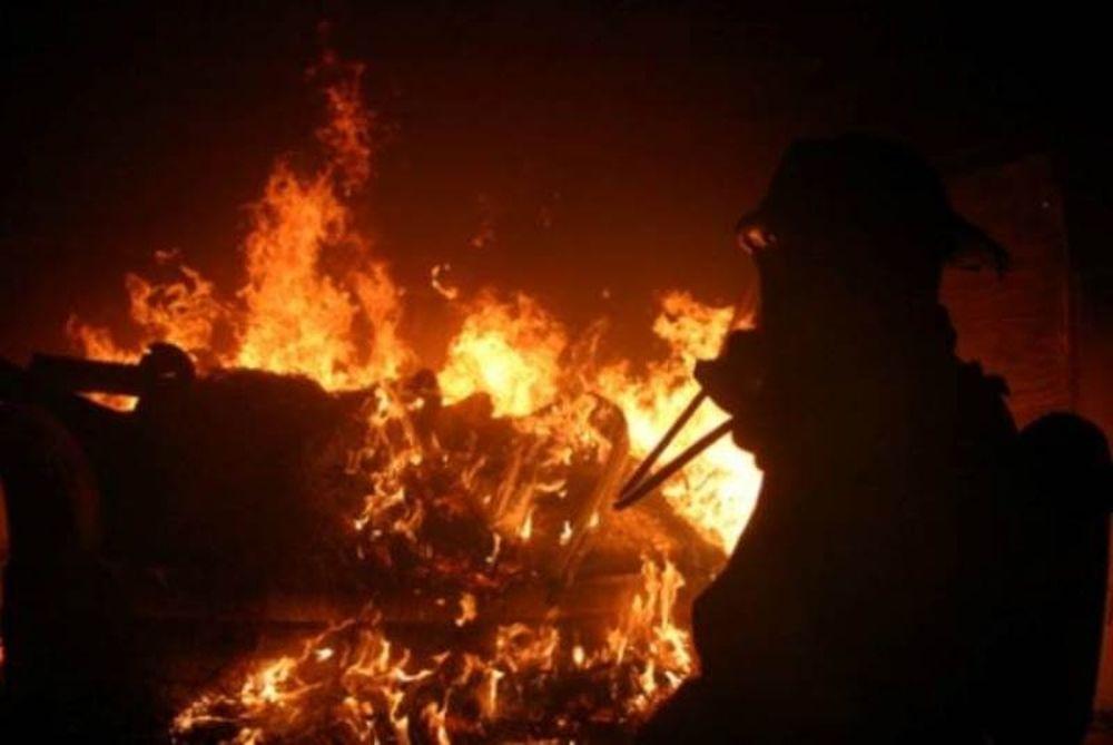 Παραλίγο να καεί ζωντανή προσπαθώντας να ζεσταθεί