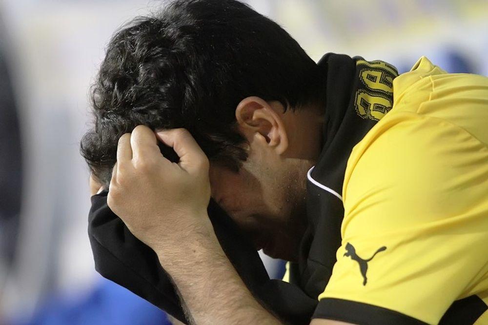 ΑΕΚ: Ξέσπασαν σε κλάματα οι παίκτες (photos+video)