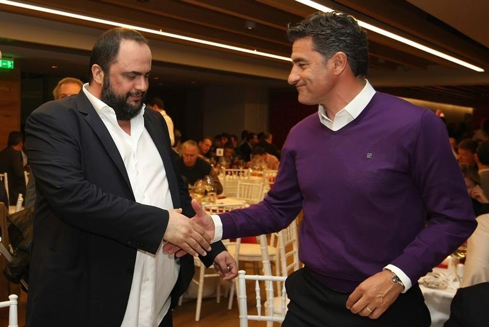 Ολυμπιακός: Δείπνο στο «Γ. Καραϊσκάκης» (photos)