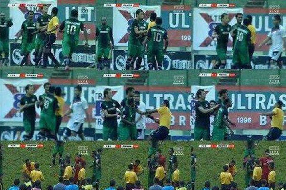 Ινδονησία: Παίκτης γρονθοκόπησε διαιτητή! (video)