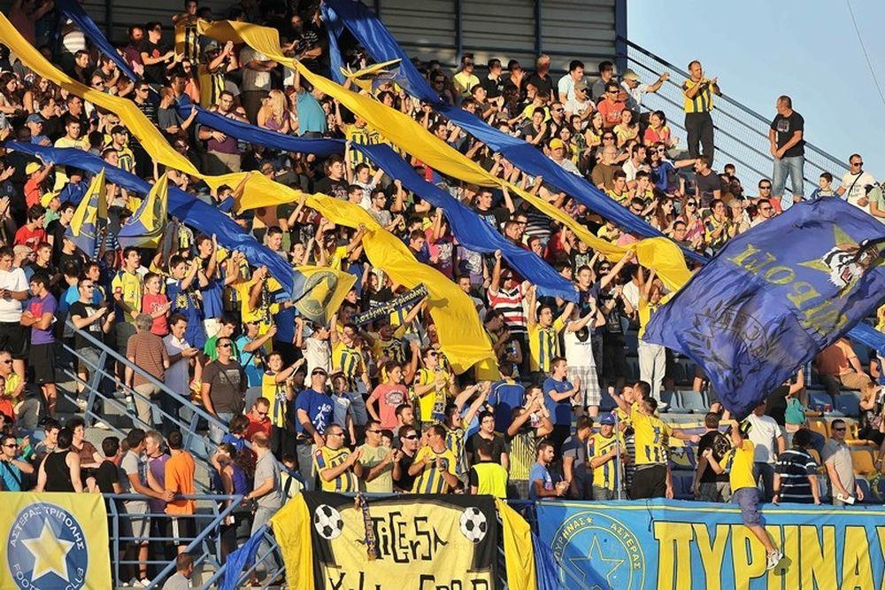 Αστέρας Τρίπολης: Από την Πέμπτη τα εισιτήρια του ημιτελικού