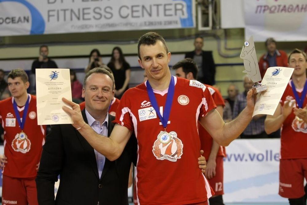 Ταρνατόρος: «Από τα ωραιότερα πρωταθλήματα της Volleyleague»