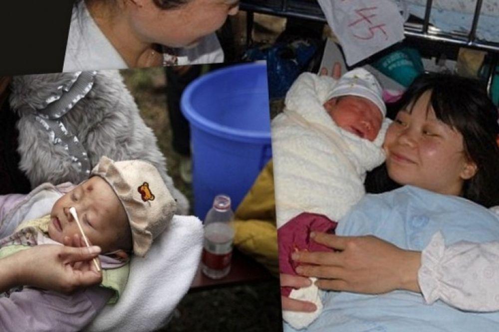 Δύο παιδιά θαύματα του καταστροφικού σεισμού στην Κίνα