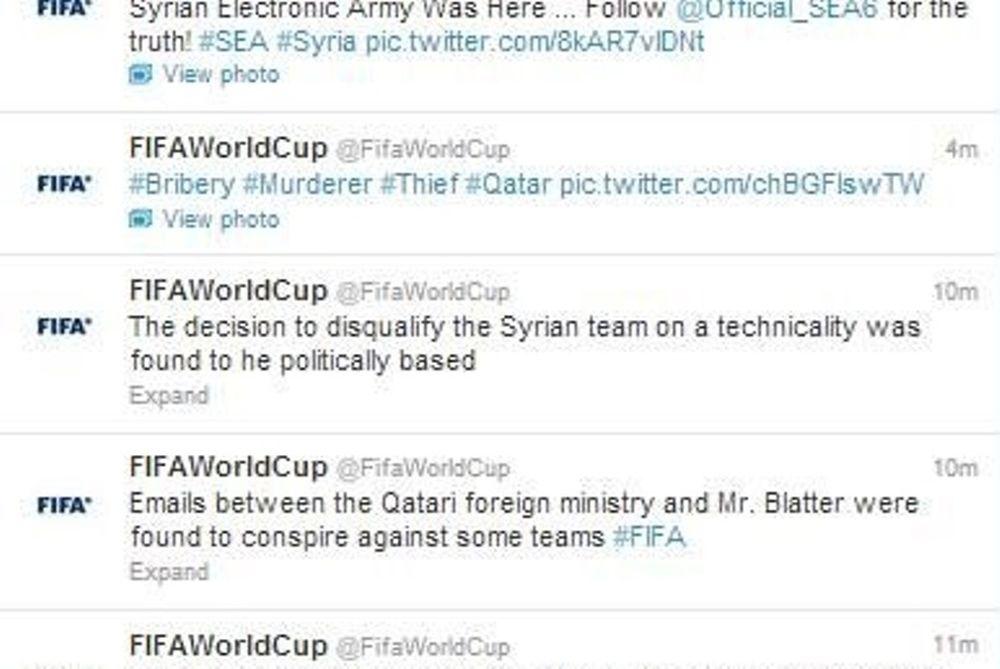Θύμα χάκερς η FIFA και ο Μπλάτερ!