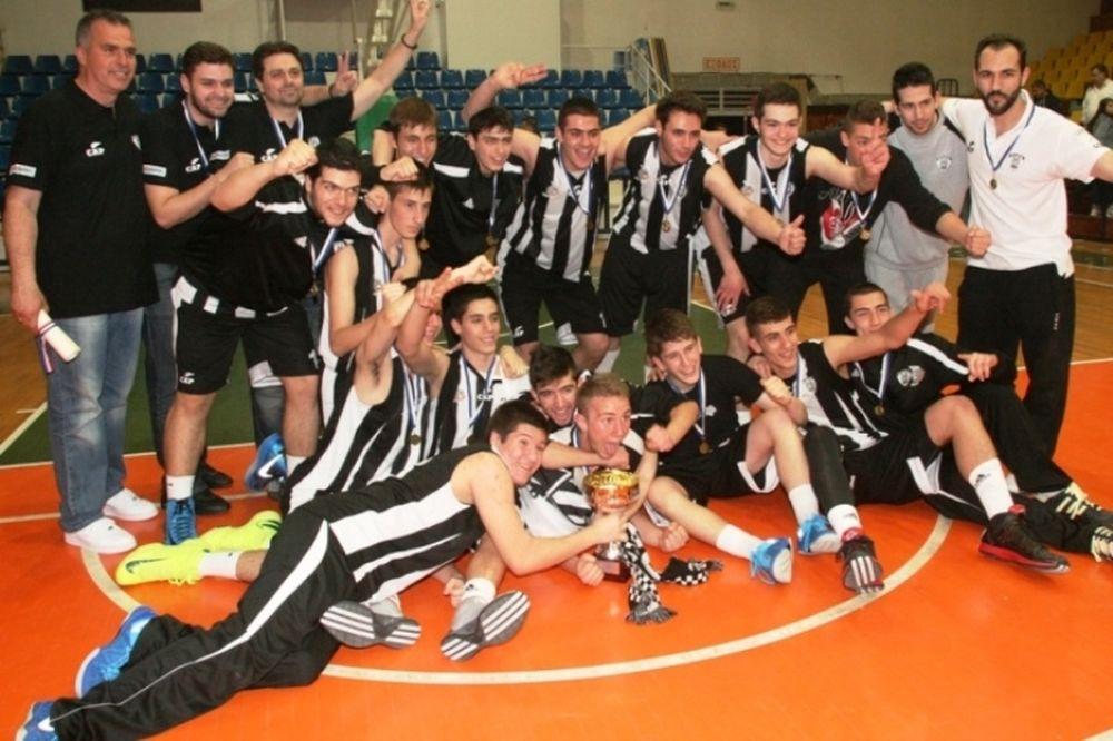 ΠΑΟΚ: Συγχαίρει τους πρωταθλητές Εφήβους