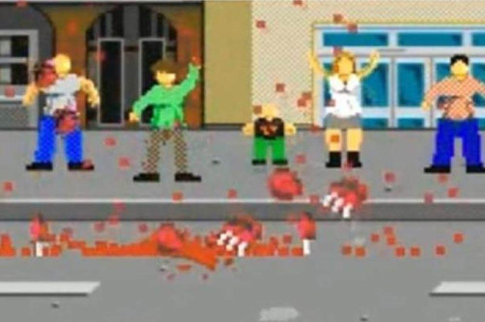 ΣΟΚ: Έκαναν videogame το μακελειό στη Βοστώνη