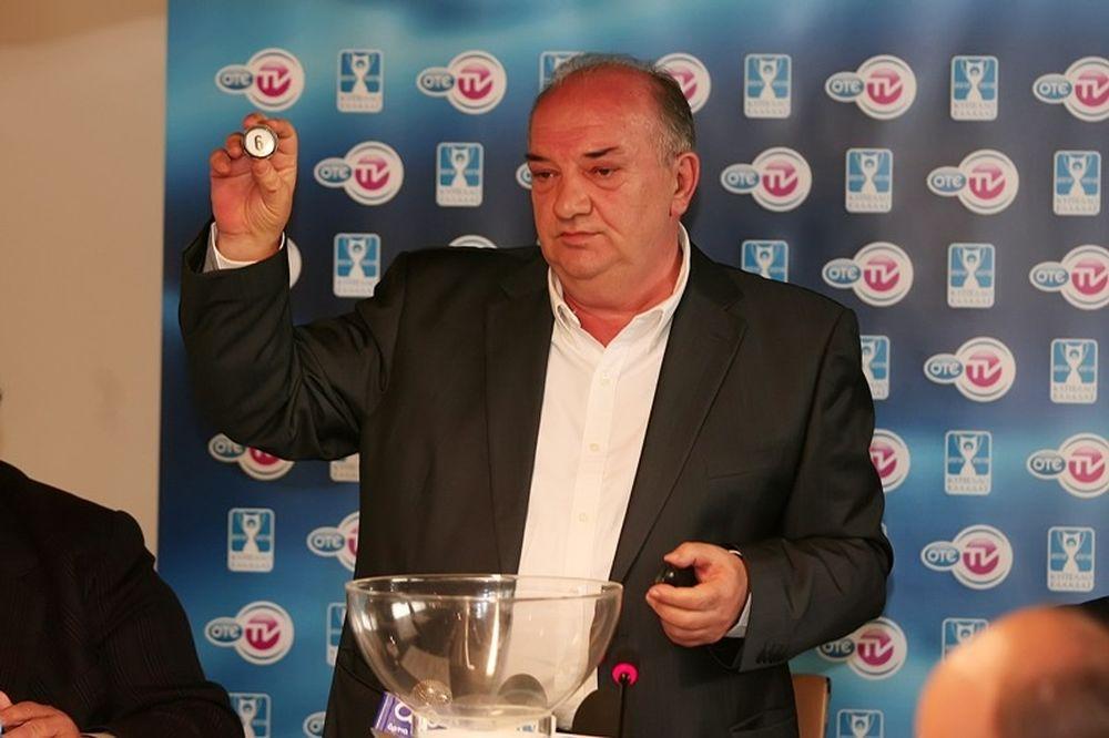 Προύντζος: «Στο ΟΑΚΑ ο τελικός Κυπέλλου»