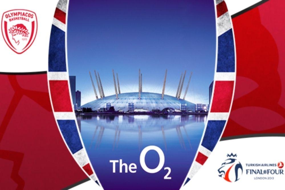 Ολυμπιακός: Τα εισιτήρια για Λονδίνο