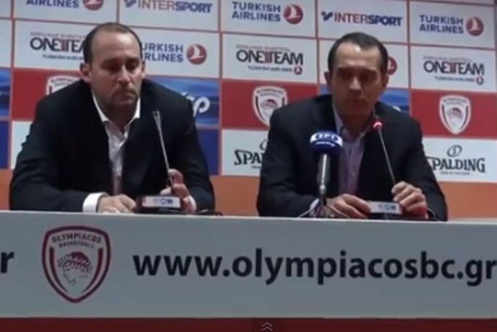 Ολυμπιακός: Η συνέντευξη των Αγγελόπουλων (video)