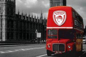 Ολυμπιακός: Οι πρώτες φωτογραφίες από το… Λονδίνο (photos)