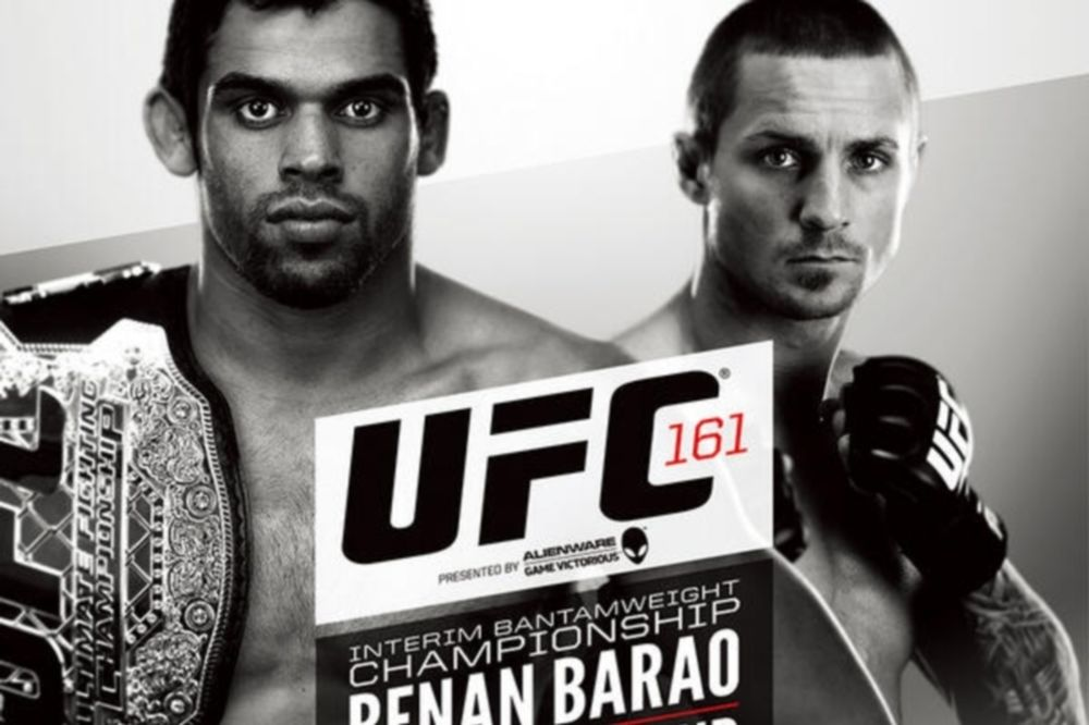 UFC 161: Πόστερ για το «Barao vs Wineland»