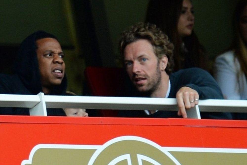 Άρσεναλ: Coldplay και Jay-Z στο «Έμιρεϊτς» με Γιουνάιτεντ (photos)