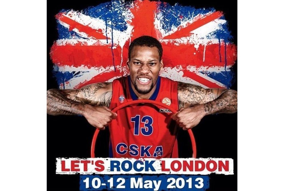 ΤΣΣΚΑ Μόσχας: «Let's rock London»
