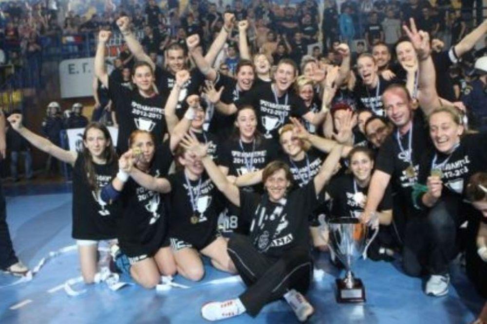 ΠΑΟΚ: Συγχαίρει τη γυναικεία ομάδα χάντμπολ