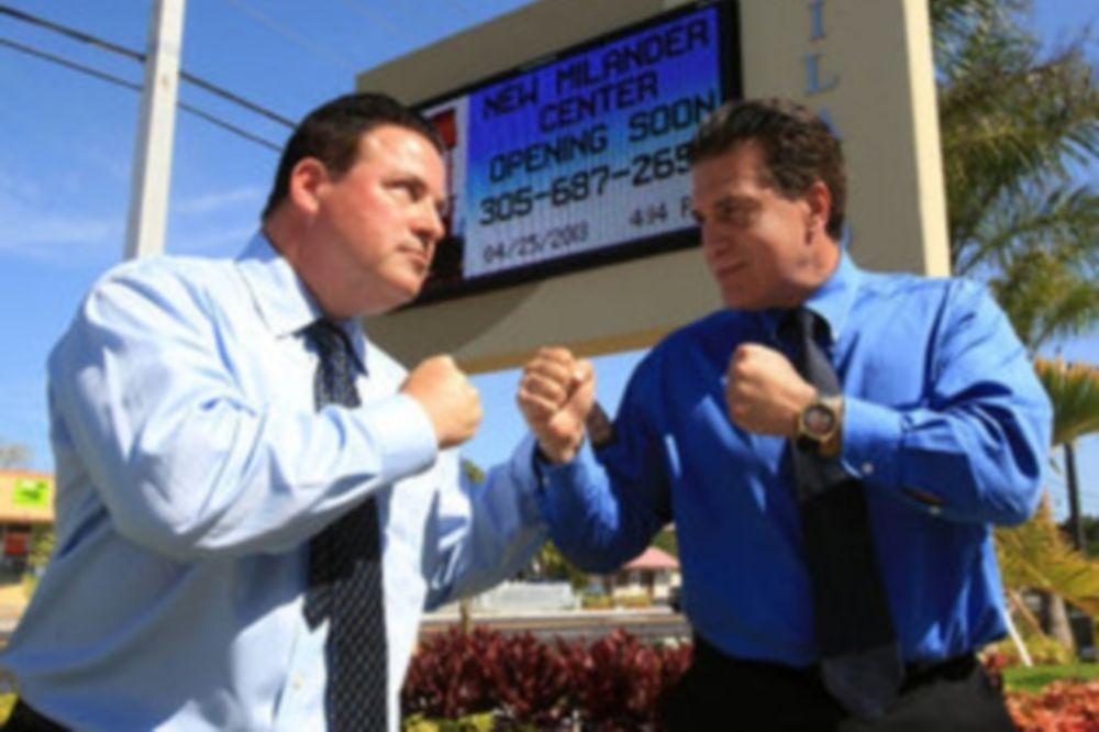 MMA: Αγώνας μεταξύ… 50άχρονων πολιτικών