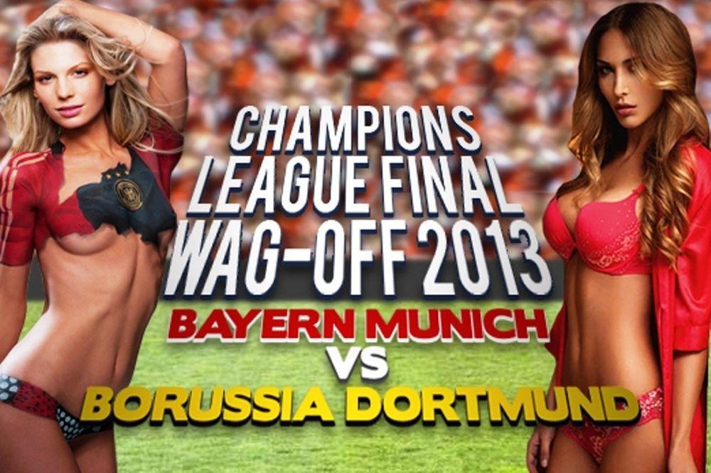 Τελικός Champions League: The… WAG battle (photos+videos)