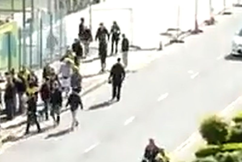 Ξύλο στο Λονδίνο (video)
