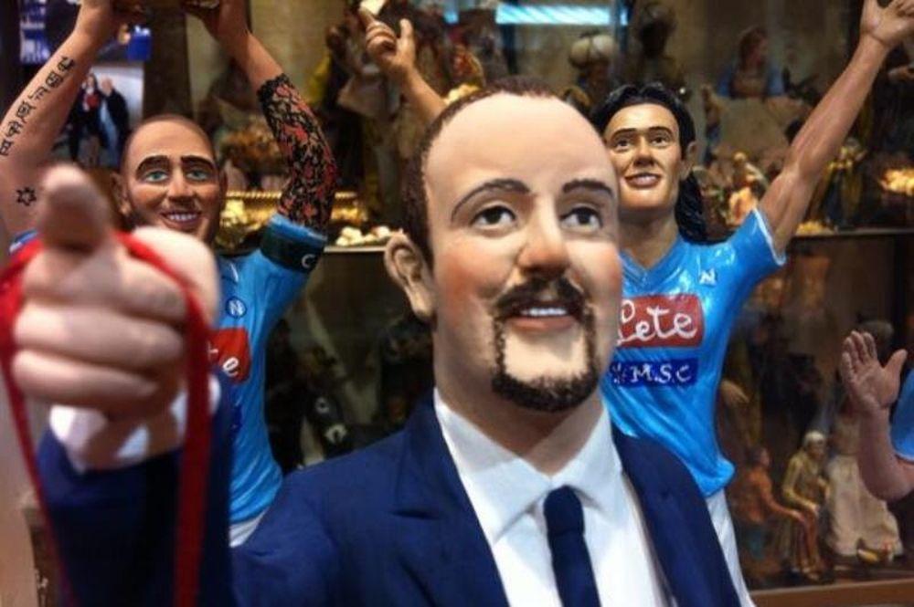 Νάπολι: Μινιατούρα ο Μπενίτεθ! (photos)