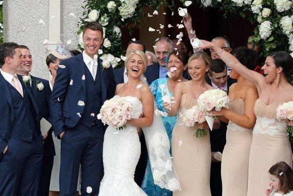 Μάντσεστερ Γιουνάιτεντ: Παντρεύτηκε ο Έβανς (photos)