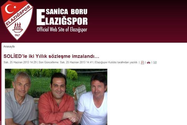 Οριστικά στην Τουρκία ο Σόλιντ