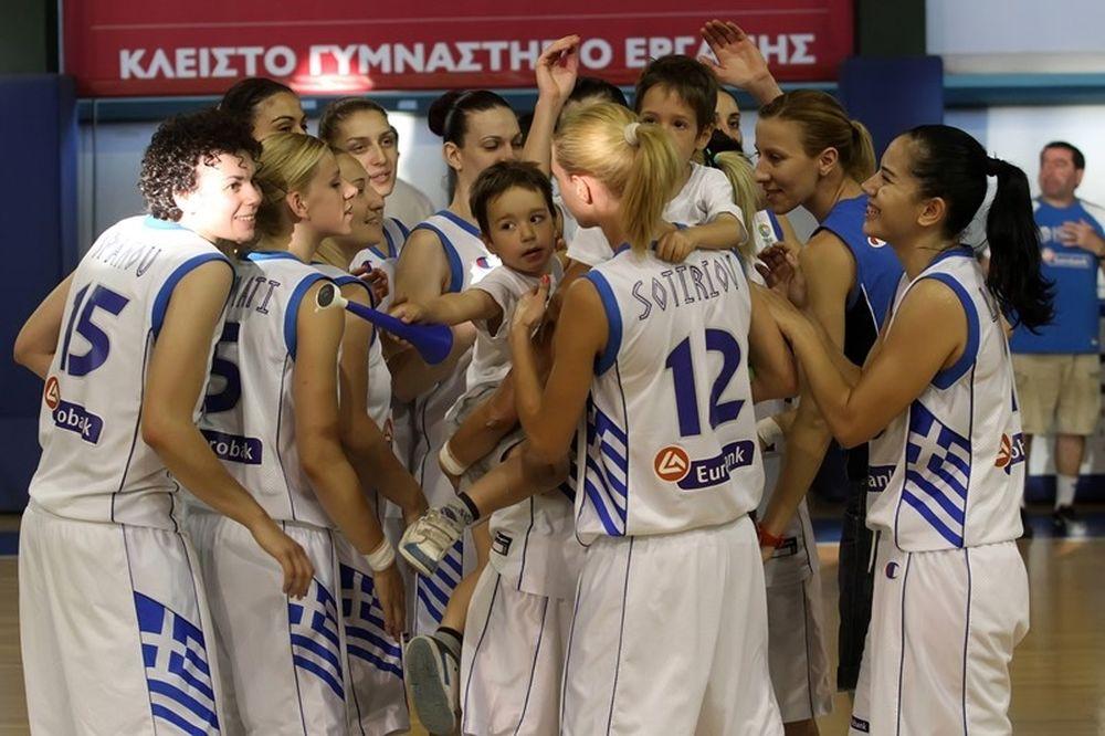 Στο Ευρωμπάσκετ η Εθνική Γυναικών!
