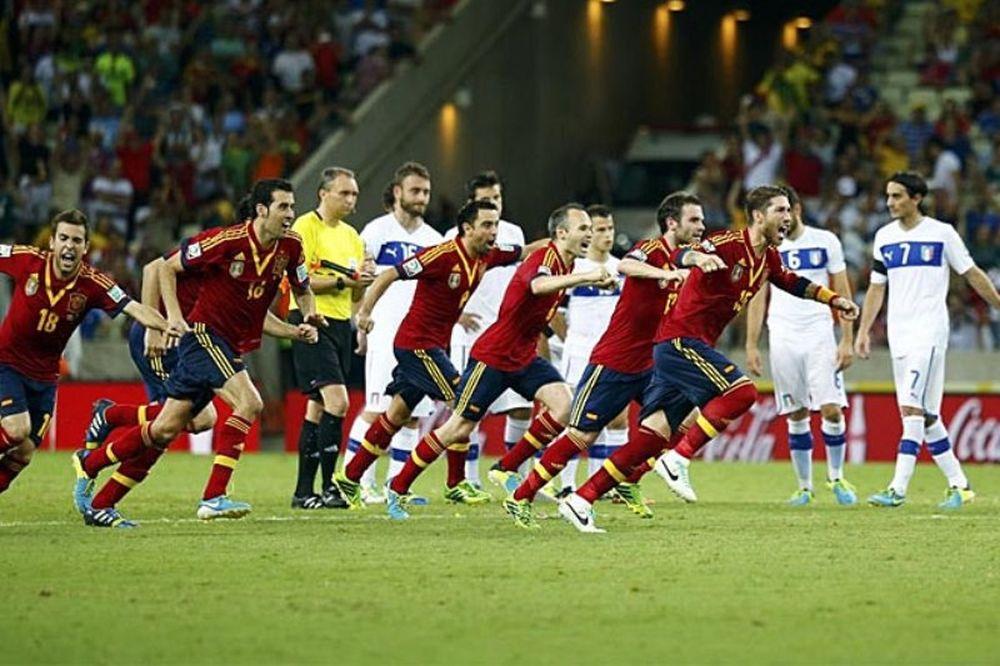 Confederations Cup: Ο συγκλονιστικός ημιτελικός Ισπανία – Ιταλία (photos+video)