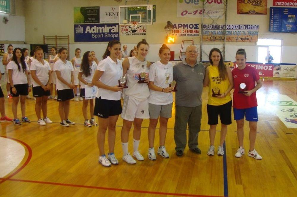 Πανελλήνιο Πρωτάθλημα Κορασίδων: Οι απονομές