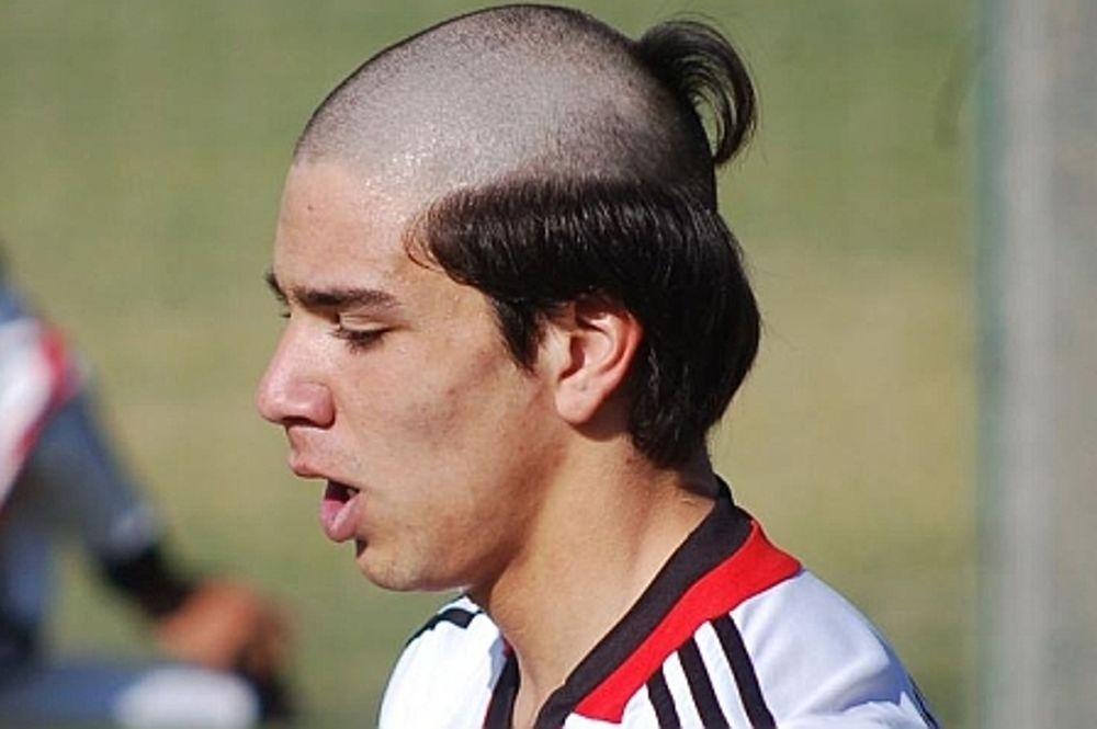Ρίβερ Πλέιτ: Το χειρότερο κούρεμα ποδοσφαιριστή (photo)