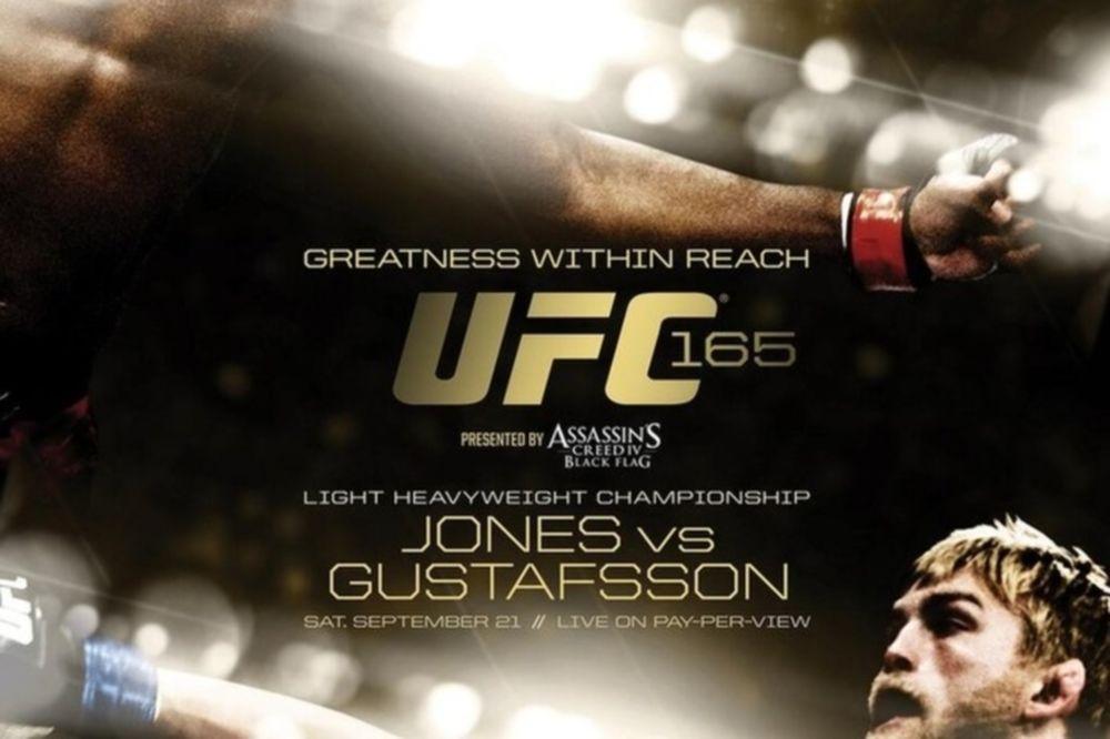 UFC 165: Επικό πόστερ